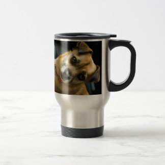 Heidi the Pinup Dog Travel Mug