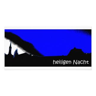 Heiligen Nacht Picture Card