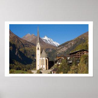 Heiligenblut Village Poster