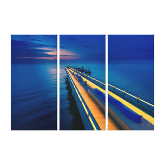 Heiligenhafen bridge canvas print