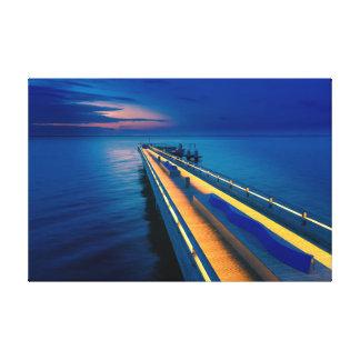 Heiligenhafen bridge canvas print