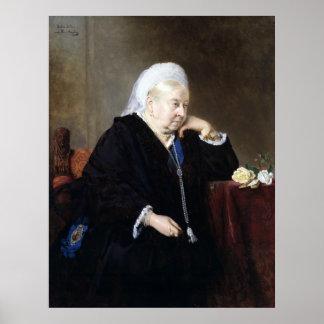 Heinrich von Angeli Queen Victoria Poster