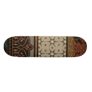 Heirloom Textile with Decorative Patterns Skateboards