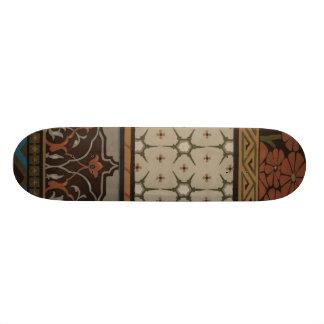 Heirloom Textile with Decorative Patterns Skateboard Decks