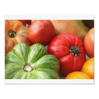 Heirloom Tomatoes 11 Cm X 14 Cm Invitation Card