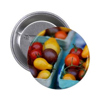 Heirloom Tomatoes 6 Cm Round Badge