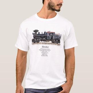 Heisler Logging Locomotive T-Shirt