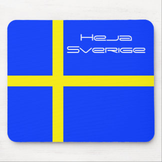 Heja Sverige Mouse Pad