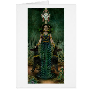 Hekate of the Crossroads Greeting Card