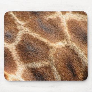 Helaine's Giraffe Pattern Mouse Pad