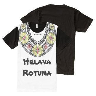 Helava Tifui Rotuma style All-Over Print T-Shirt