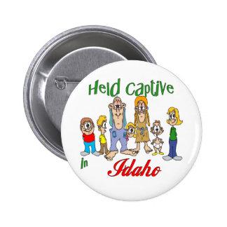 Held Captive in Idaho 6 Cm Round Badge