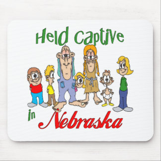 Held Captive in Nebraska Mouse Pad