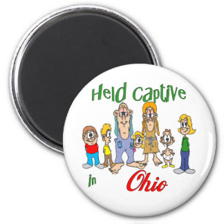 Held Captive in Ohio 6 Cm Round Magnet