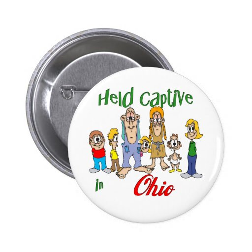 Held Captive in Ohio Buttons