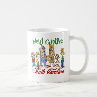 Held Captive in South Carolina Basic White Mug