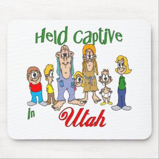 Held Captive in Utah Mouse Pad