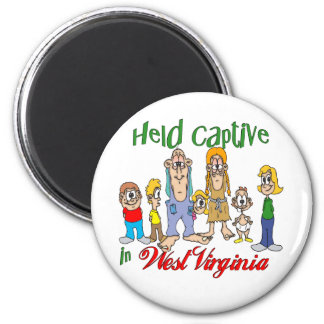 Held Captive in West Virginia Magnets