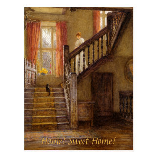 Helen Allingham The Staircase CC0467 Postcard