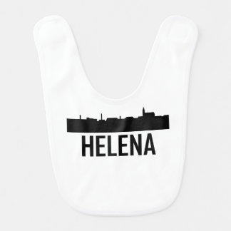 Helena Montana City Skyline Bib