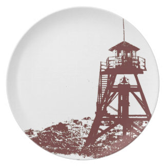 Helena MT Firetower Plate