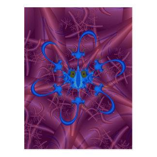 Helenium Bug with Anti-Virus Postcard