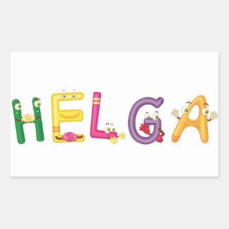 Helga Sticker