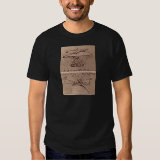 Helicopter and lifting wing shirt