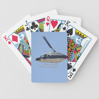 Helicopter Bicycle Playing Cards