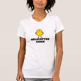 Helicopter Chick T-Shirt