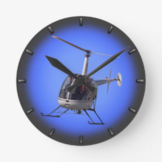Helicopter Clock Flying Helicopter Wall Clock Gift