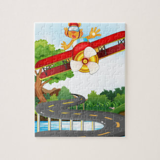 Helicopter Jigsaw Puzzle