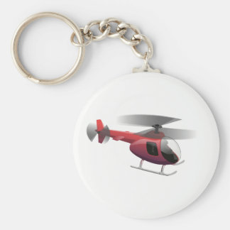 Helicopter Key Ring