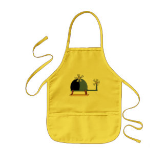 Helicopter Kids Apron