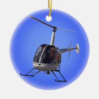 Helicopter Ornament Personalized Chopper Decoratio