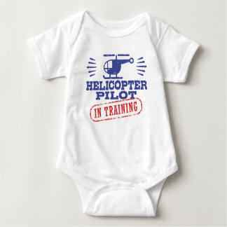 Helicopter Pilot In Training Baby Bodysuit