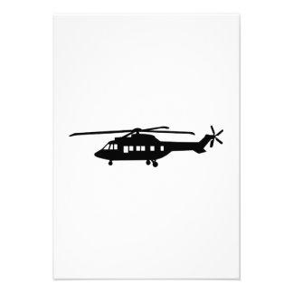 Helicopter pilot custom invites