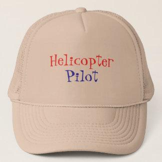 Helicopter, Pilot Trucker Hat