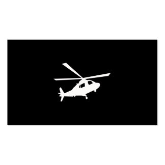 Helicopter Pilots Pack Of Standard Business Cards