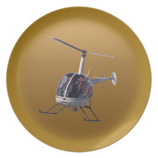Helicopter Plate Cool Helicopter Plates & Decor