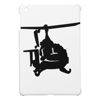 Helicopter Silhouette iPad Mini Covers