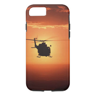 Helicopter Silhouette iPhone 7 case