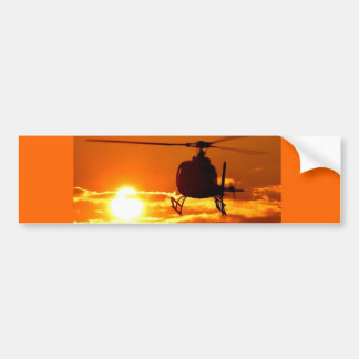 helicopter sundown bumper stickers