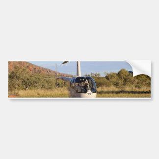 Helicopter (white), Outback Australia 2 Bumper Sticker