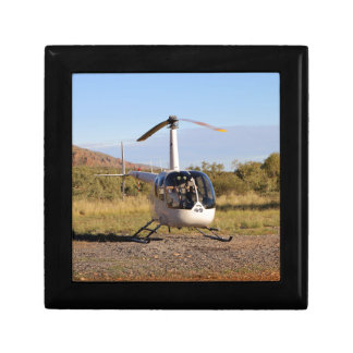 Helicopter (white), Outback Australia 2 Gift Box