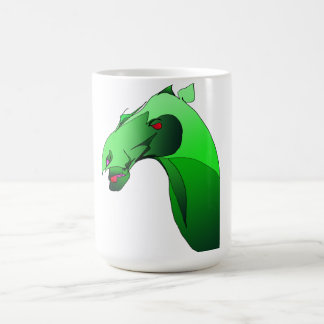 Heliodor Mug - Green Horse Demon