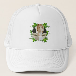 Helios and Leaves Trucker Hat