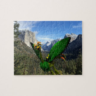 "Helios at Yosemite Puzzle 8"" x 10"" 110 pieces"