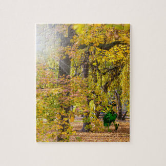Helios Enjoying Fall Trees Puzzle (110 pieces)
