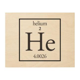 Helium Wood Prints